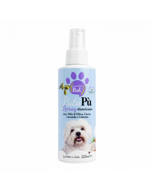 PUTUPÙ SPRAY DISTRICANTE PROFUMATO QUOTIDIANO PER CANE - PARENTESTI BIO