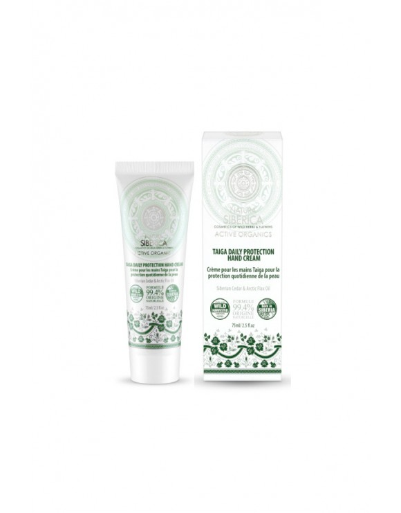 TAIGA DAILY PROTECTION HAND CREAM - NATURA SIBERICA