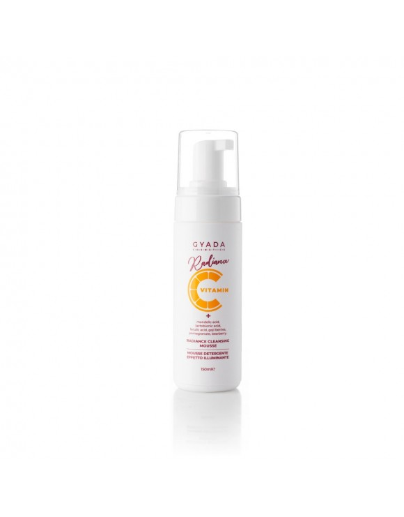 RADIANCE CLEANSING MOUSSE MOUSSE DETERGENTE ILLUMINANTE - GYADA COSMETICS