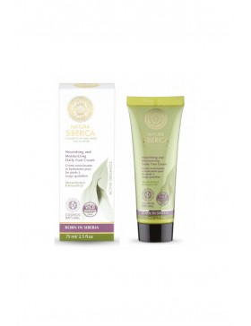 NOURISHING AND MOISTURIZING DAILY FOOT CREAM - NATURA SIBERICA
