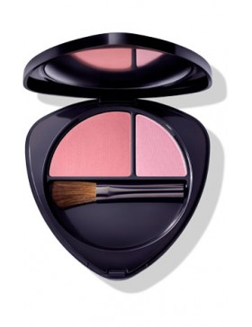 BLUSH DUO 02 DEWY PEACH - DR.HAUSCHKA