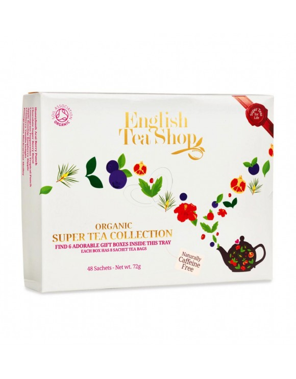 ORGANIC SUPER TEA COLLECTION - ENGLISH TEA SHOP