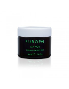 CREMA ANTISMOG PER PELLI MATURE NORMALI E DISIDRATATE MY AGE NORMAL AND DRY SKIN - PUROPHI