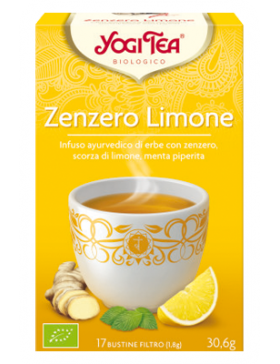 ZENZERO E LIMONE - YOGI TEA