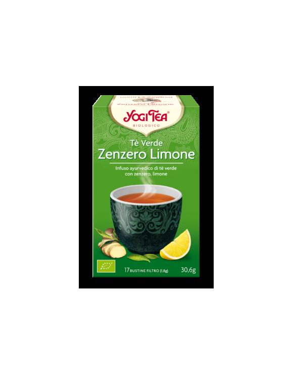 TÈ VERDE ZENZERO E LIMONE - YOGI TEA