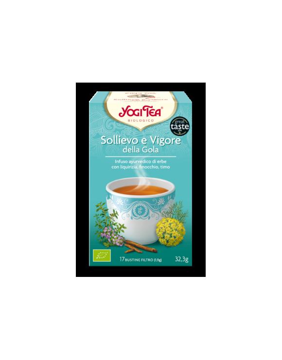 SOLLIEVO E VIGORE DELLA GOLA - YOGI TEA