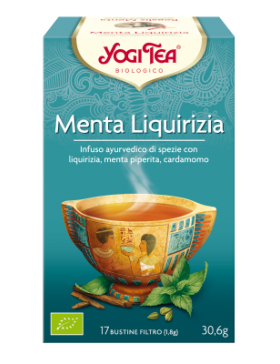 MENTA LIQUIRIZIA - YOGI TEA