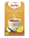 ZENZERO ARANCIO E VANIGLIA - YOGI TEA